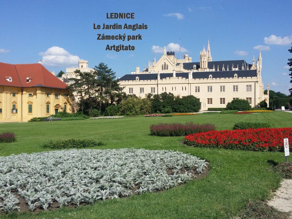 LEDNICE Le Jardin Anglais Zámecký park - MORAVIE DU SUD Artgitato Château de Lednice (9)