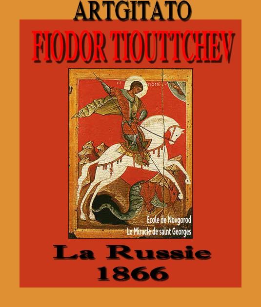 La Russie 1866 Fiodor Tiouttchev Ecole de Novgorod Le Miracle de saint Georges