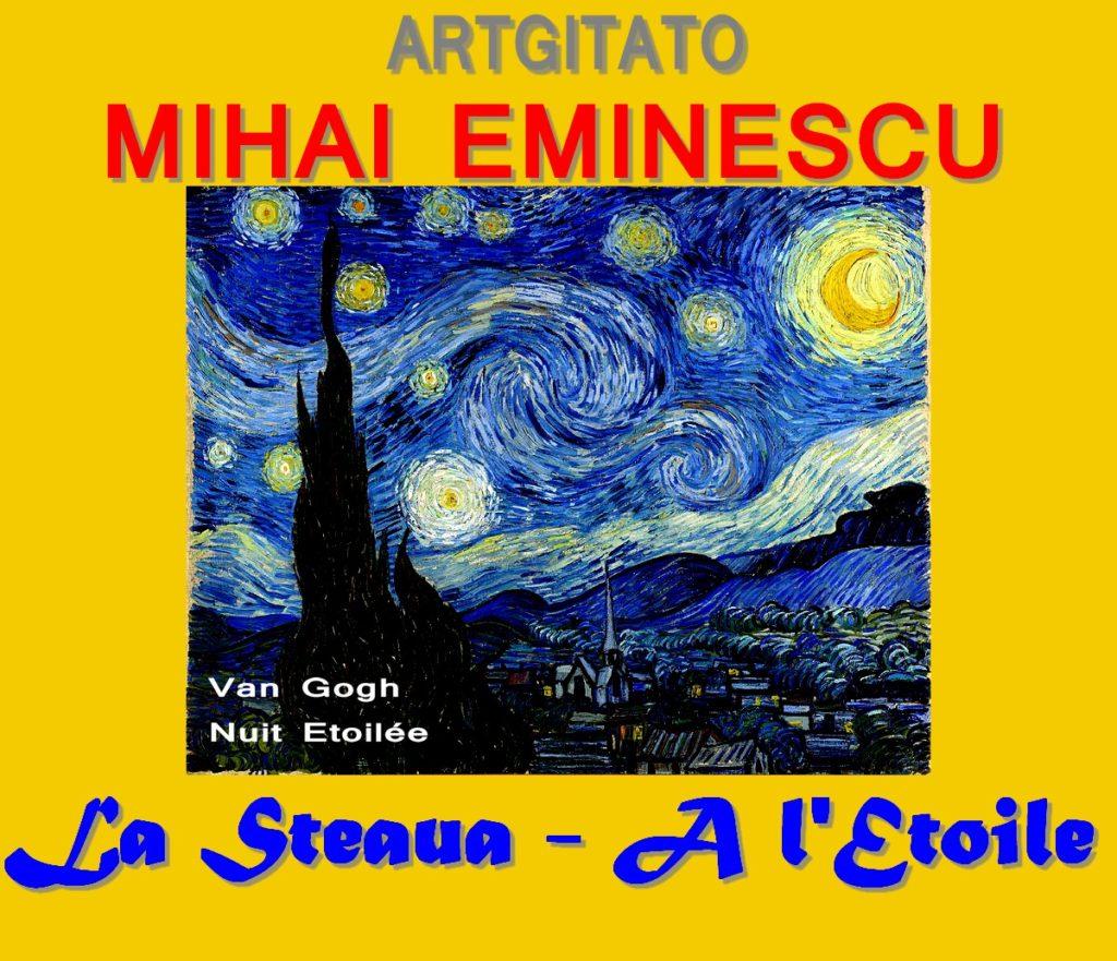 La Steaua L'étoile Poésie Mihai Eminescu Artgitato Van Gogh nuit étoilée