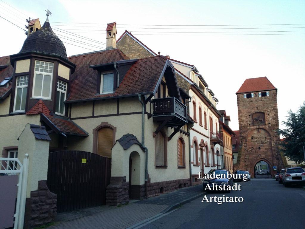 Ladenburg Altstadt Artgitato (1)