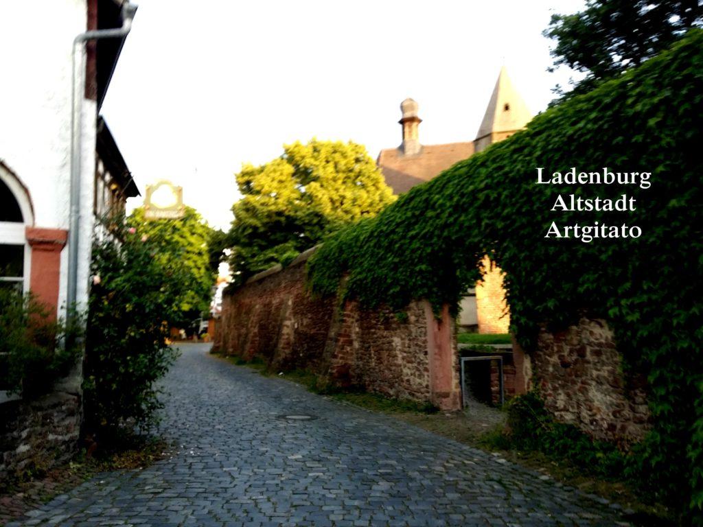 Ladenburg Altstadt Artgitato (2)