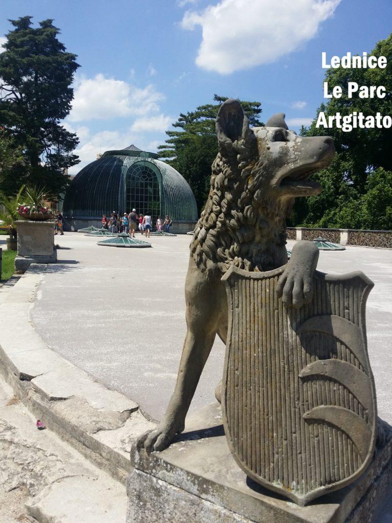 Le Jardin Anglais Zamecky Park Château de Lednice Artgitato 0