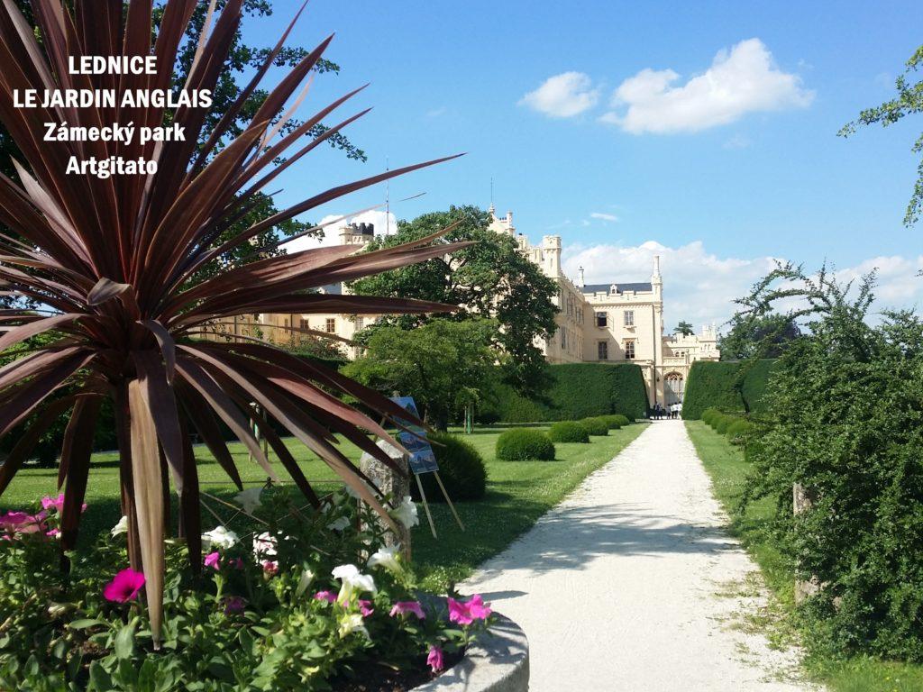 Le Jardin Anglais Zamecky Park Château de Lednice Artgitato (10)