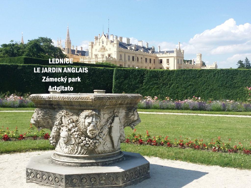Le Jardin Anglais Zamecky Park Château de Lednice Artgitato (3)