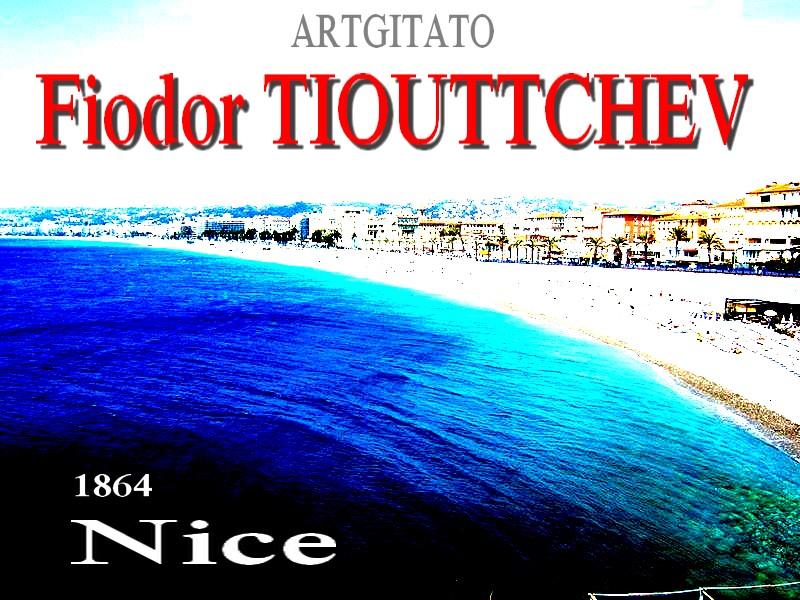 Nice Poème 1864 Fiodor Tiouttchev Artgitato