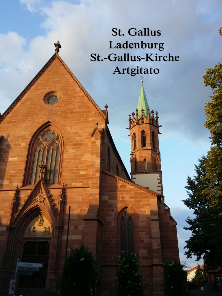 St. Gallus Ladenburg - St.-Gallus-Kirche Artgitato (3)