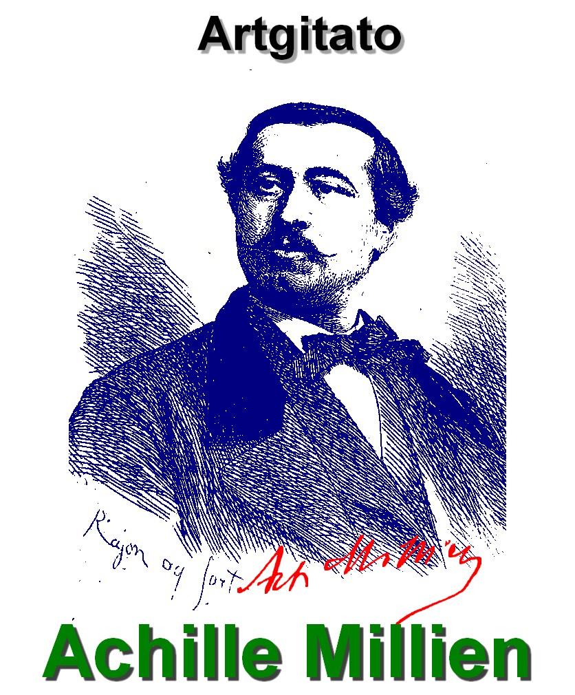 Achille Millien par Paul Adolphe Rajon Artgitato Oeuvres et Poèmes