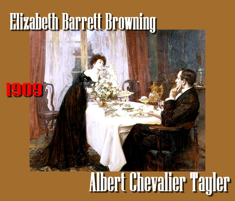 Albert Chevallier Tayler Elizabeth Barrett Browning 1909