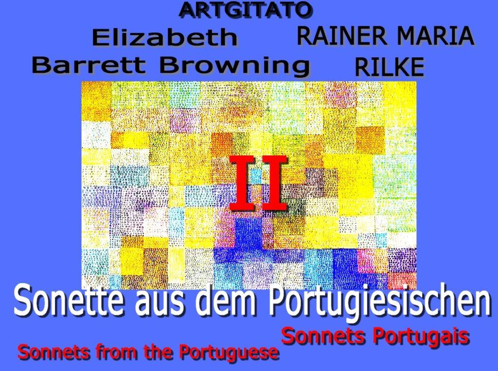 Elizabeth Barrett Browning Sonnets from the portuguese Rainer Maria Rilke Artgitato Sonnets Portugais II Paul Klee Polyphonie 1932 Kunstmuseumnote 5 Bâle