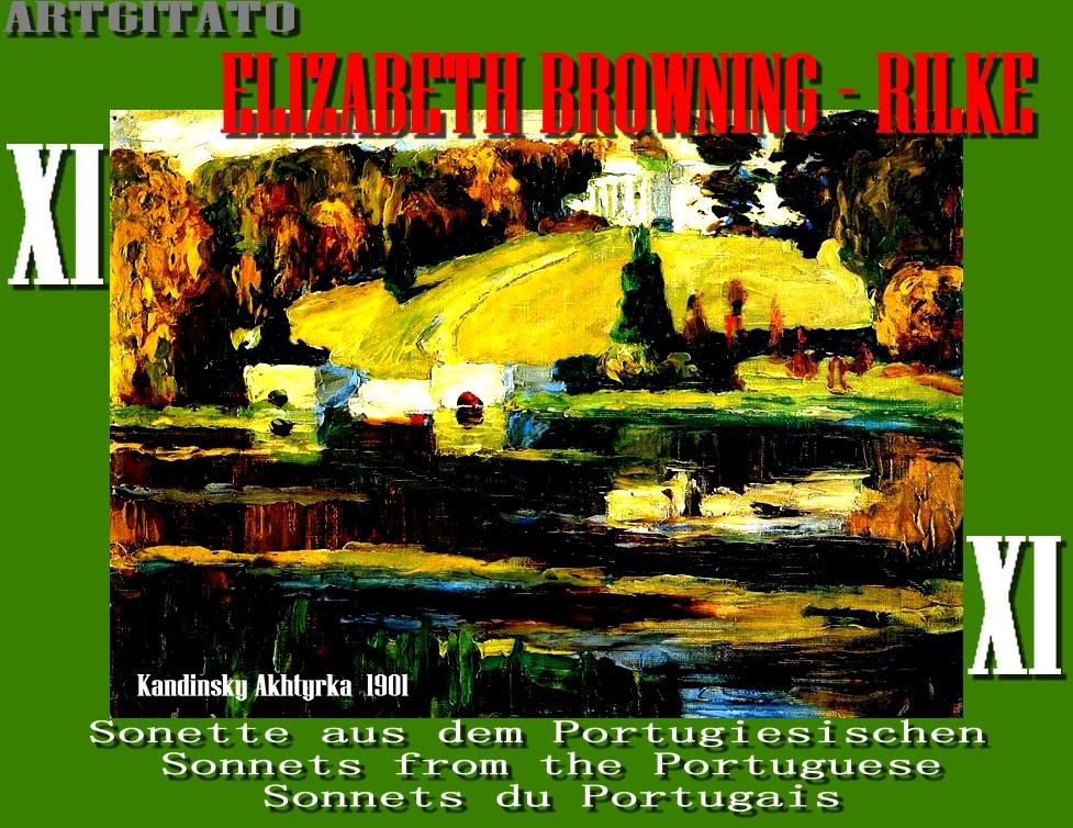 Elizabeth Browning Rainer Maria Rilke Vassily Kandinsky 1901 Akhtyrka