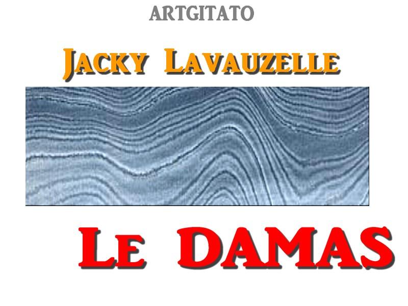 Damas Couteau des dieux Poème Jacky Lavauzelle