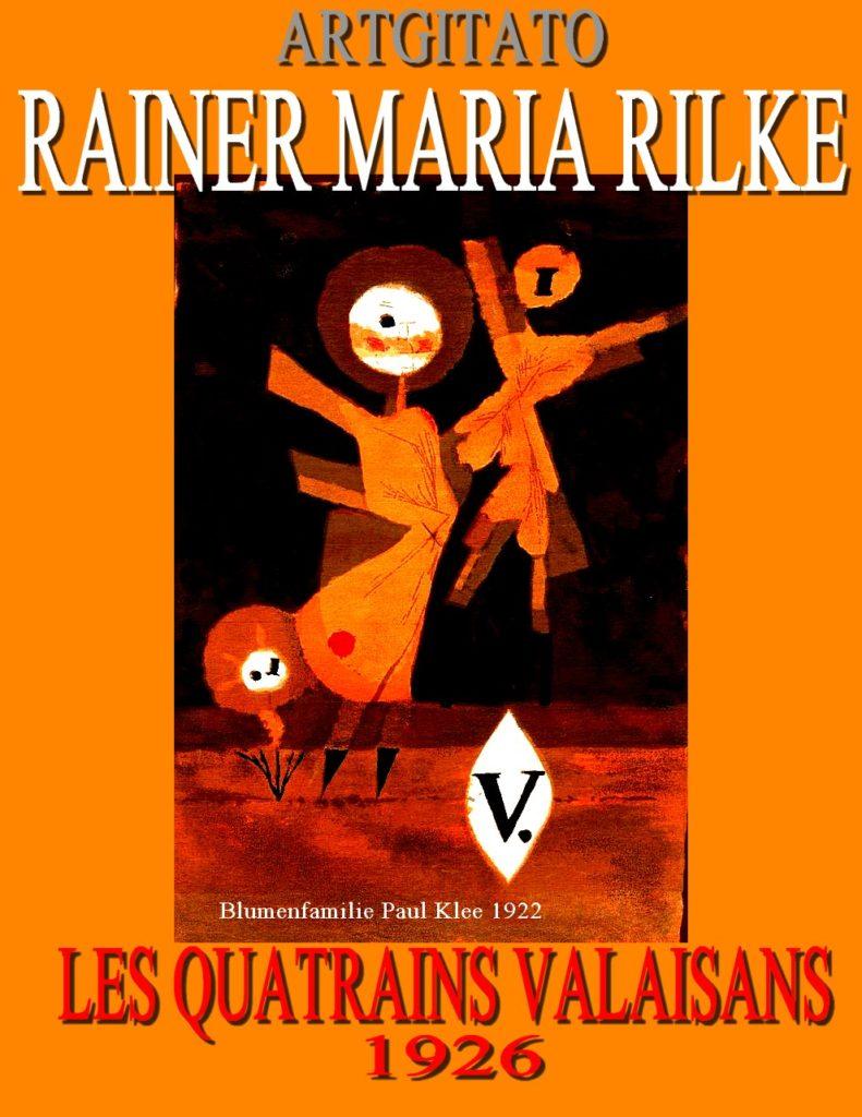 Les Quatrains Valaisans Rainer Maria Rilke Blumenfamilie 1922 Paul Klee