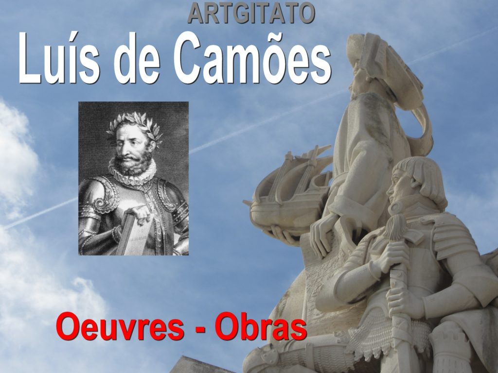 Luis de Camoes Oeuvres obras Artgitato
