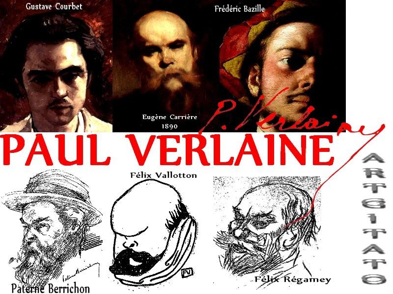 PAUL VERLAINE Son Oeuvre Texte Poésie Artgitato