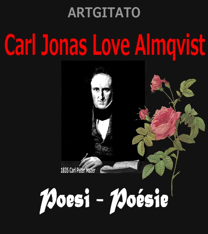 Poesi Poésie de Carl Jonas Love Almqvist Dikter Artgitato1835 Carl Peter Mazer 2
