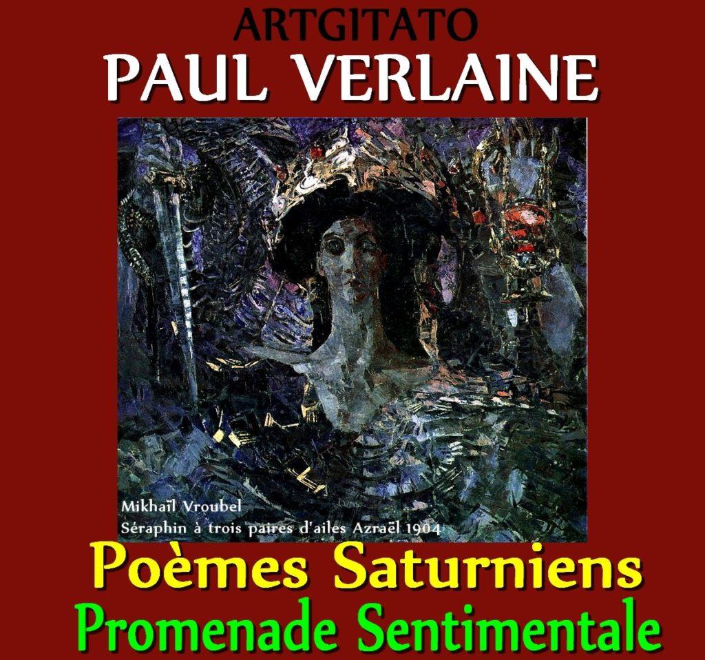 Promenade Sentimentale Paul Verlaine Poèmes Saturniens Artgitato Mikhaïl Vroubel Séraphin à trois paires d'ailes Azraël 1904
