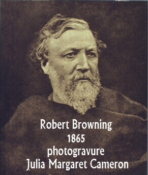 Robert Browning 1865 photogravure Julia Margaret Cameron