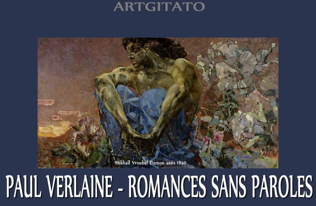 Romances sans paroles Paul Verlaine Mikhaïl Vroubel Démon assis 1890