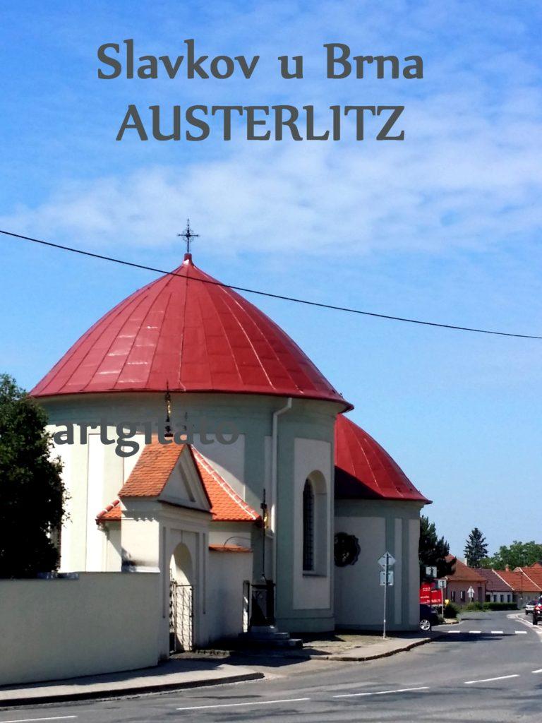 Slavkov u Brna Austerlitz Tchéquie République Tchèque Artgitato Eglise (1)