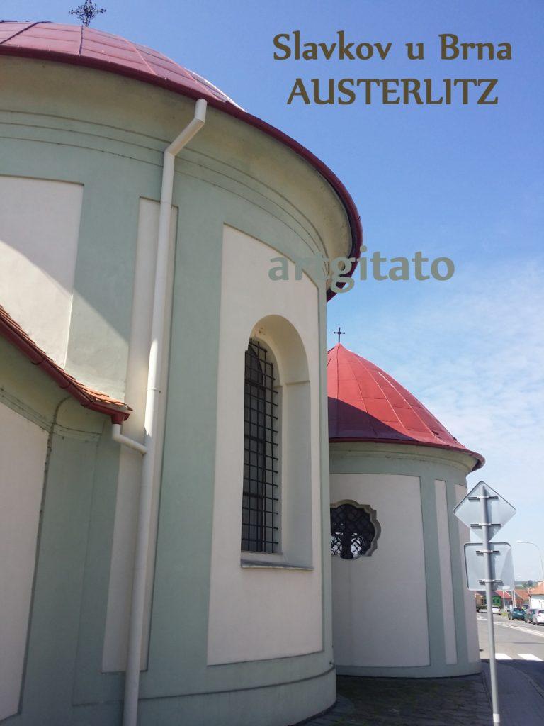 Slavkov u Brna Austerlitz Tchéquie République Tchèque Artgitato Eglise (3)
