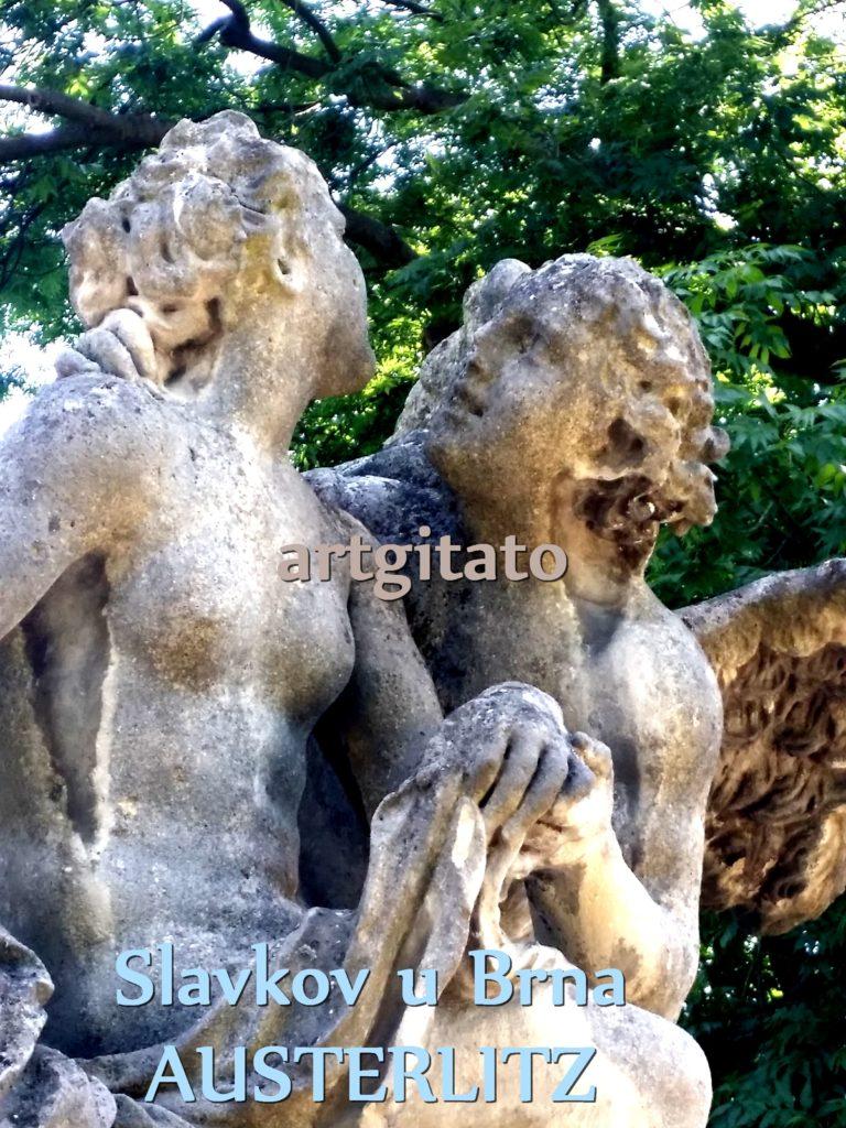 Slavkov u Brna Austerlitz Tchéquie République Tchèque Artgitato Le Jardin du Château d'Austerlitz (10)