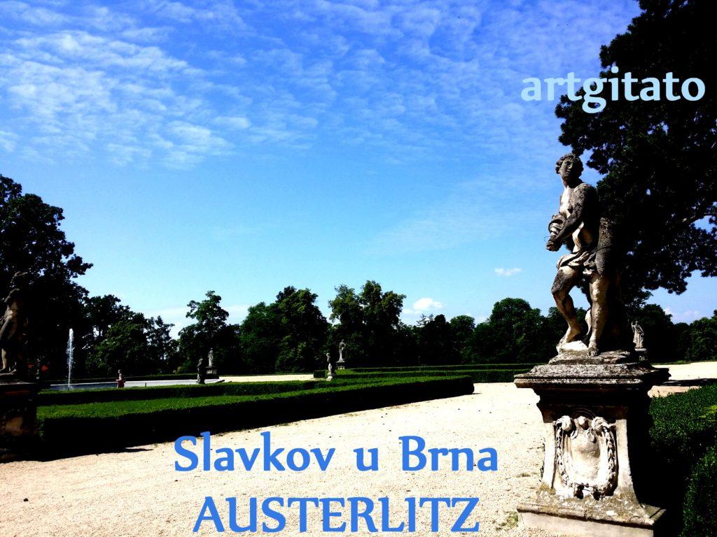 Slavkov u Brna Austerlitz Tchéquie République Tchèque Artgitato Le Jardin du Château d'Austerlitz (11)