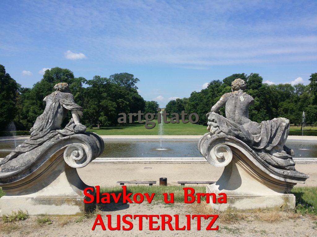 Slavkov u Brna Austerlitz Tchéquie République Tchèque Artgitato Le Jardin du Château d'Austerlitz (13)