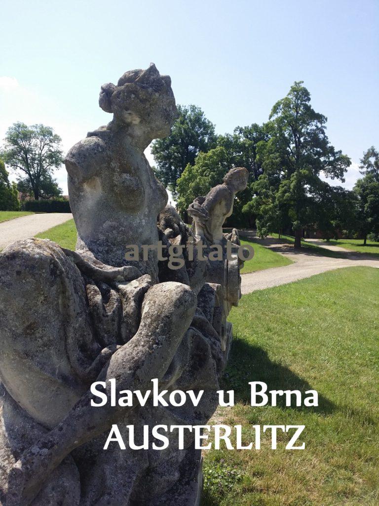 Slavkov u Brna Austerlitz Tchéquie République Tchèque Artgitato Le Jardin du Château d'Austerlitz (14)