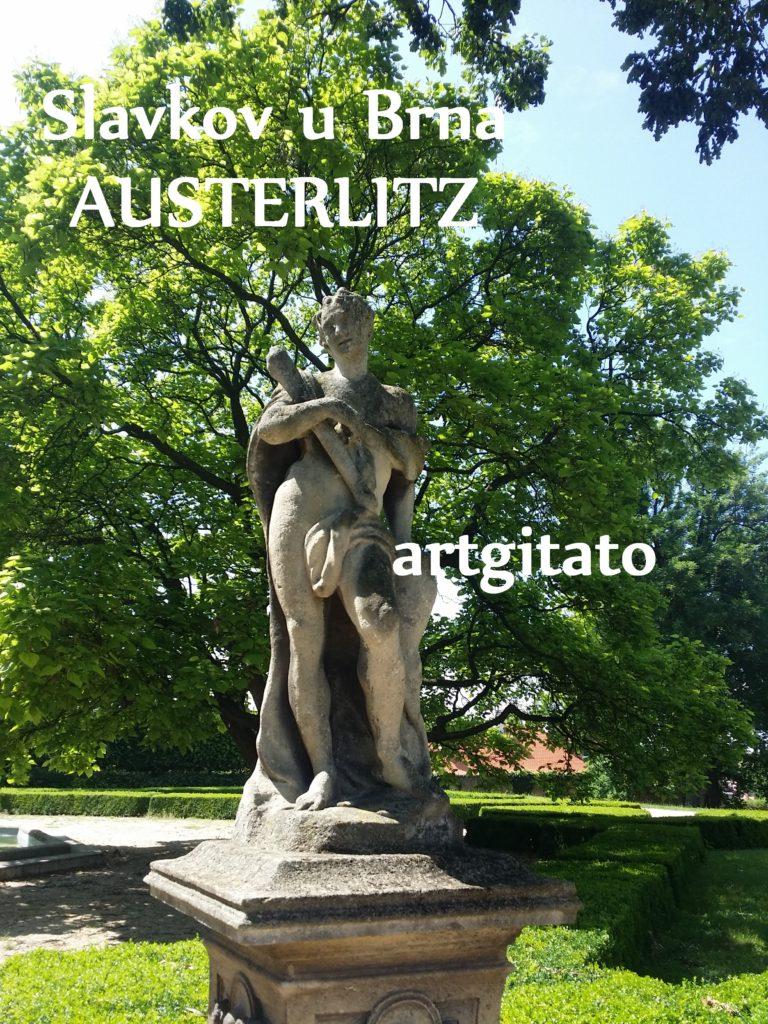 Slavkov u Brna Austerlitz Tchéquie République Tchèque Artgitato Le Jardin du Château d'Austerlitz (17)
