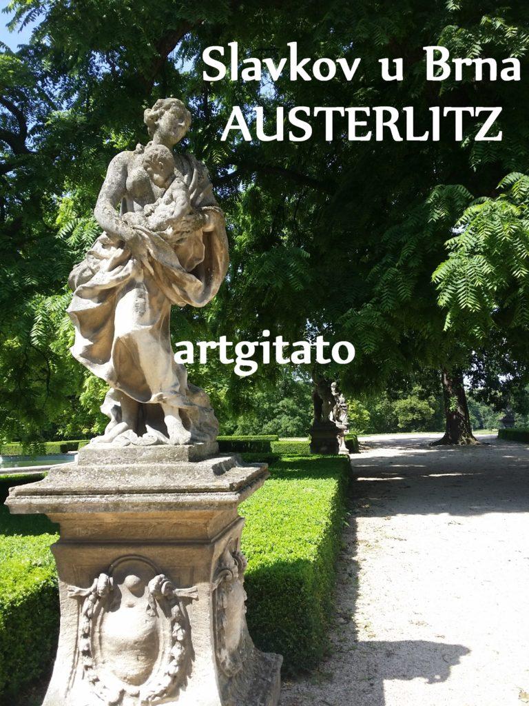 Slavkov u Brna Austerlitz Tchéquie République Tchèque Artgitato Le Jardin du Château d'Austerlitz (18)