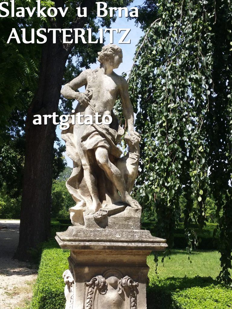 Slavkov u Brna Austerlitz Tchéquie République Tchèque Artgitato Le Jardin du Château d'Austerlitz (19)