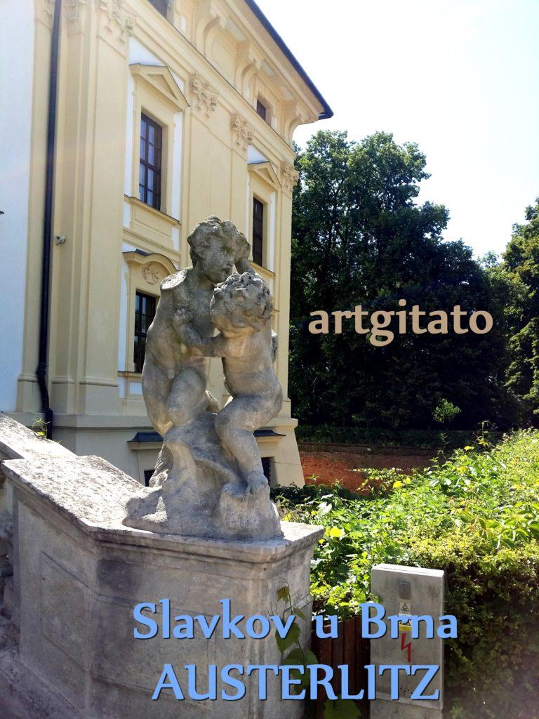 Slavkov u Brna Austerlitz Tchéquie République Tchèque Artgitato Le Jardin du Château d'Austerlitz (2)