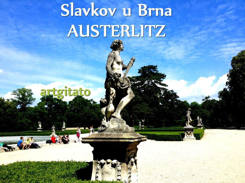 Slavkov u Brna Austerlitz Tchéquie République Tchèque Artgitato Le Jardin du Château d'Austerlitz (20)