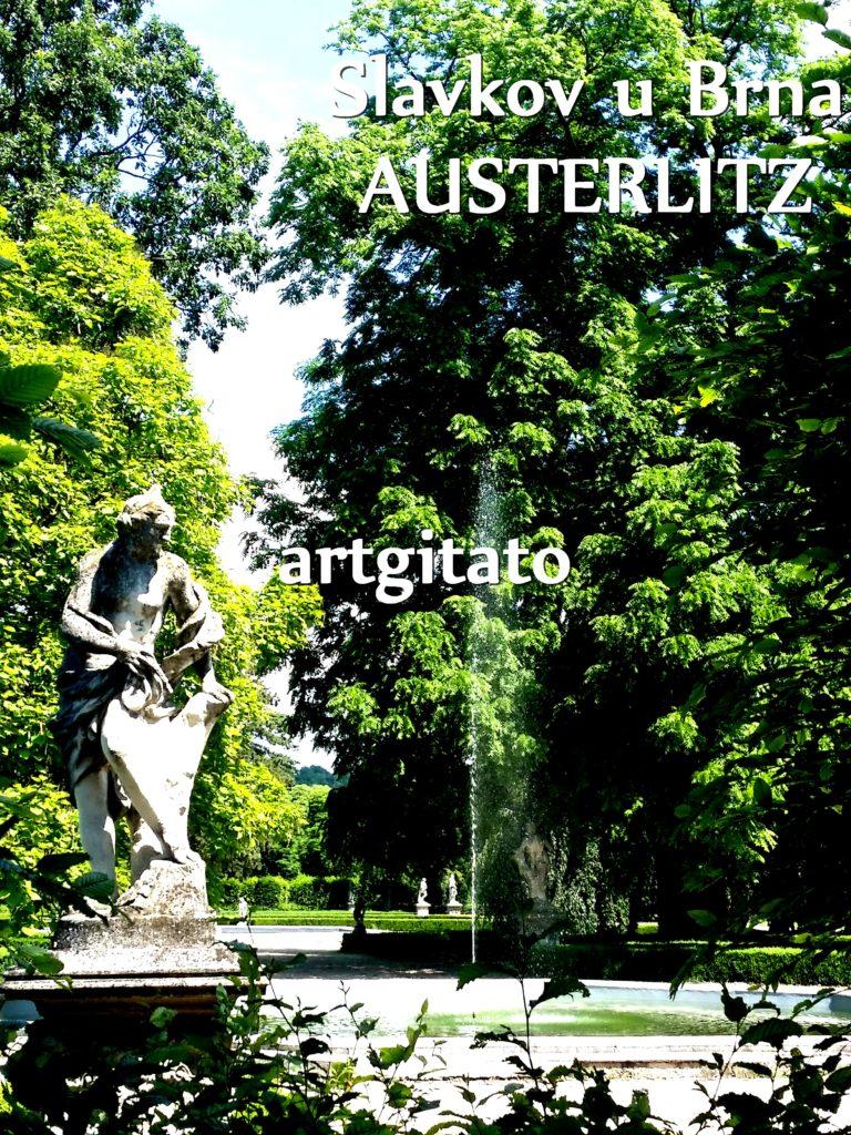 Slavkov u Brna Austerlitz Tchéquie République Tchèque Artgitato Le Jardin du Château d'Austerlitz (22)