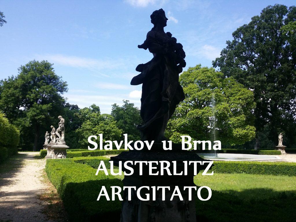 Slavkov u Brna Austerlitz Tchéquie République Tchèque Artgitato Le Jardin du Château d'Austerlitz (23)