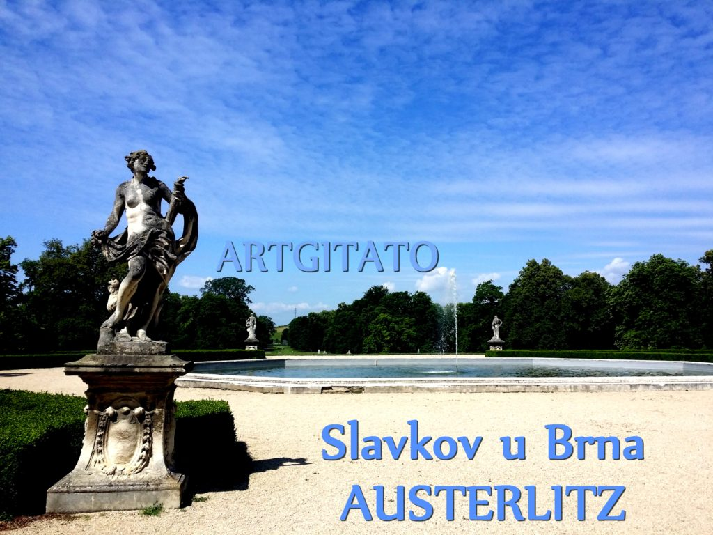 Slavkov u Brna Austerlitz Tchéquie République Tchèque Artgitato Le Jardin du Château d'Austerlitz (3)