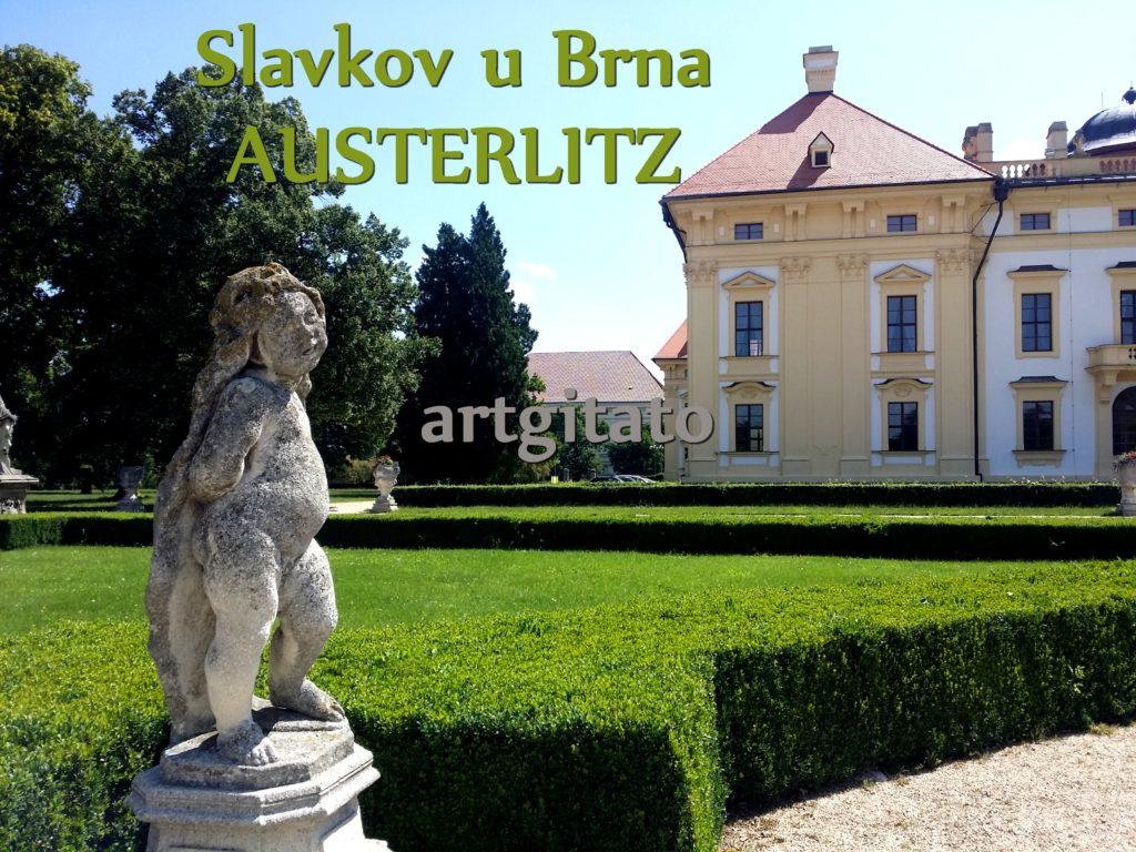 Slavkov u Brna Austerlitz Tchéquie République Tchèque Artgitato Le Jardin du Château d'Austerlitz (6)