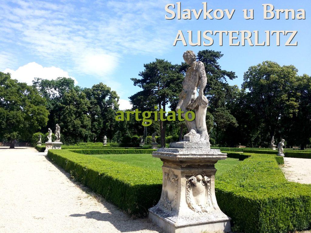 Slavkov u Brna Austerlitz Tchéquie République Tchèque Artgitato Le Jardin du Château d'Austerlitz (7)