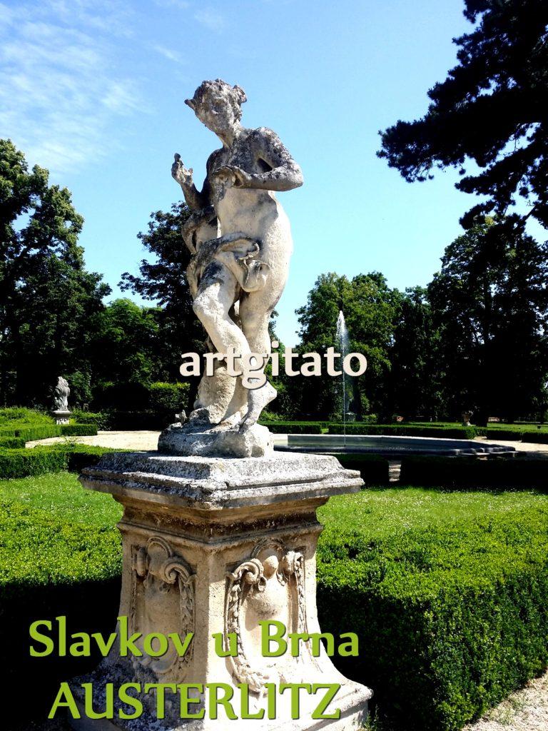 Slavkov u Brna Austerlitz Tchéquie République Tchèque Artgitato Le Jardin du Château d'Austerlitz (8)