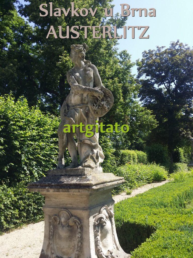 Slavkov u Brna Austerlitz Tchéquie République Tchèque Artgitato Le Jardin du Château d'Austerlitz (9)