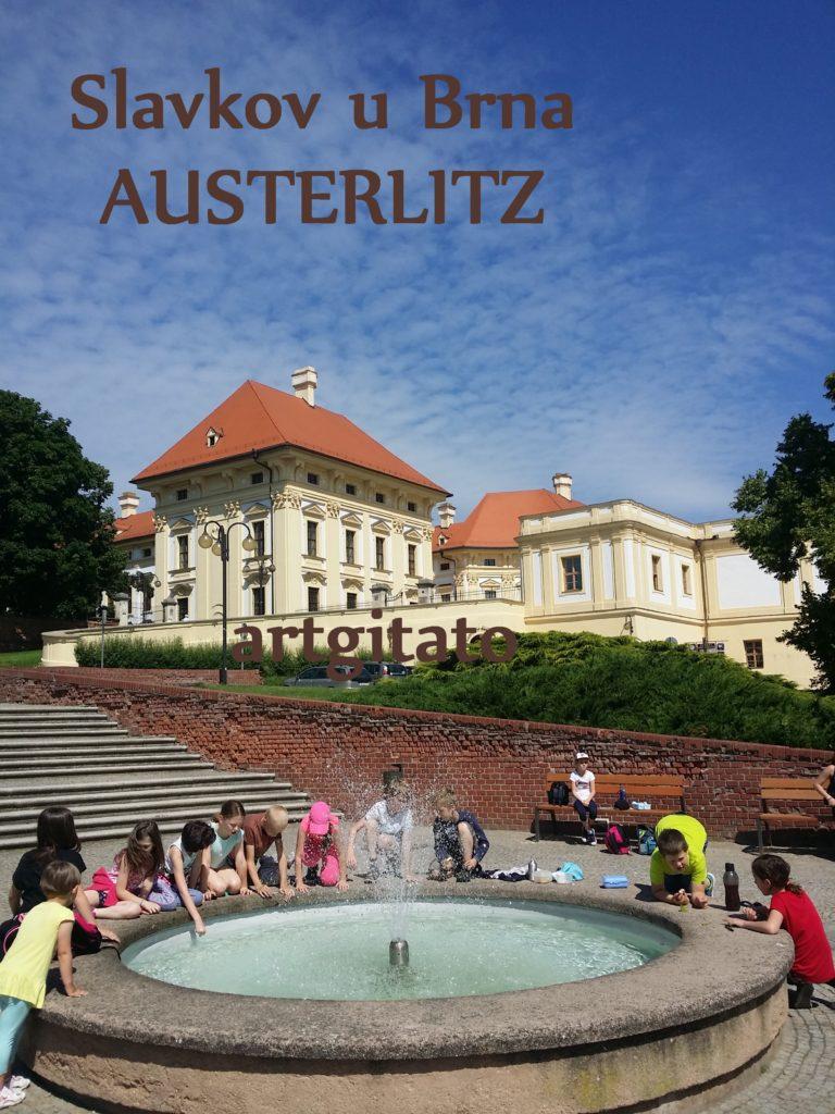 Slavkov u Brna Austerlitz Tchéquie République Tchèque Artgitato Zamek Le Château (1)