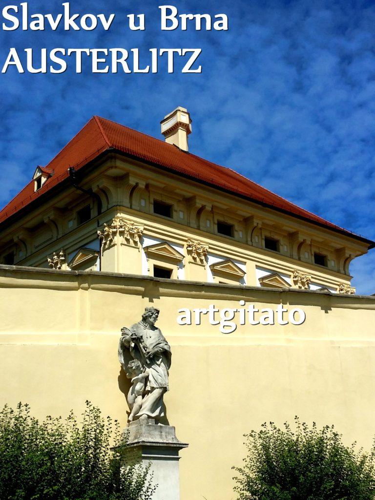 Slavkov u Brna Austerlitz Tchéquie République Tchèque Artgitato Zamek Le Château (4)