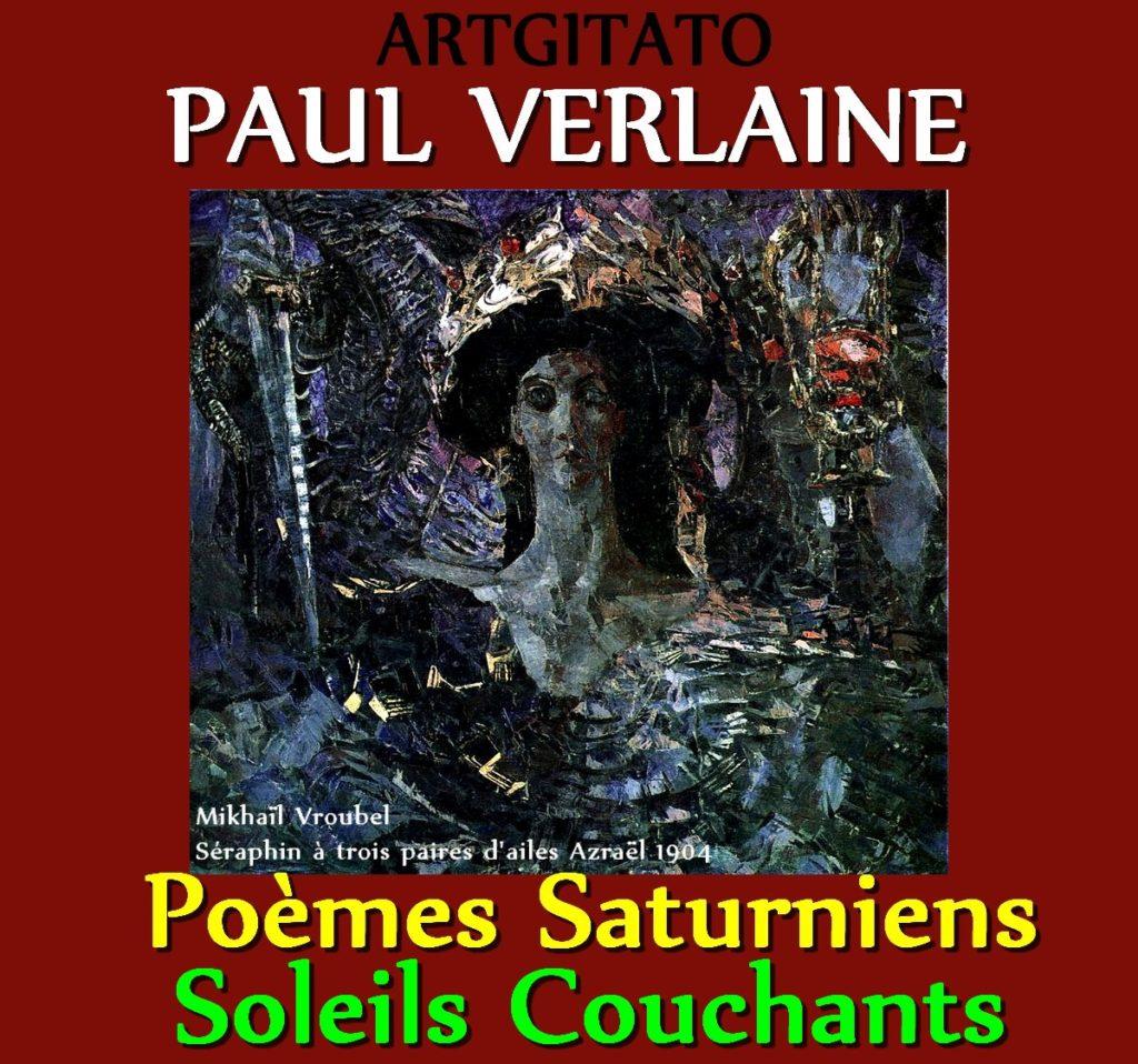 Soleils Couchants Paul Verlaine Poèmes Saturniens Artgitato Mikhaïl Vroubel Séraphin à trois paires d'ailes Azraël 1904