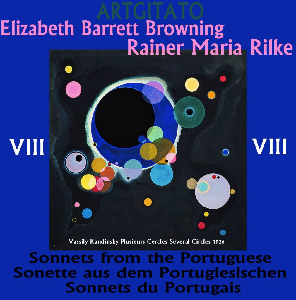 Sonnets Portugais Elizabeth Barrett Browning Rainer Maria Rilke Artgitato Vassily Kandinsky 1926 Plusieurs Cercles Several Circles
