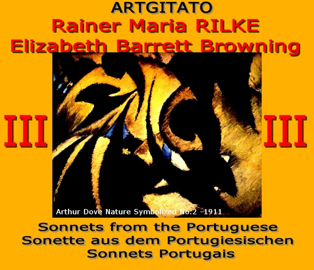 Sonnets de la Portugaise Elizabeth Barrett Browning Rainer Maria Rilke Artgitato Sonnets Portugais III -Dove_Arthur_Nature Symbolized_1911