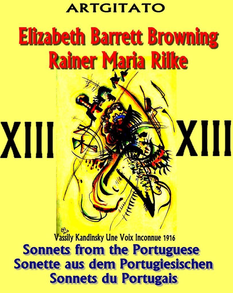 Sonnets from the Portuguese Elizabeth Barrett Browning Rainer Maria Rilke Artgitato Une Voix Inconnue 1916 Vassily Kandinsky