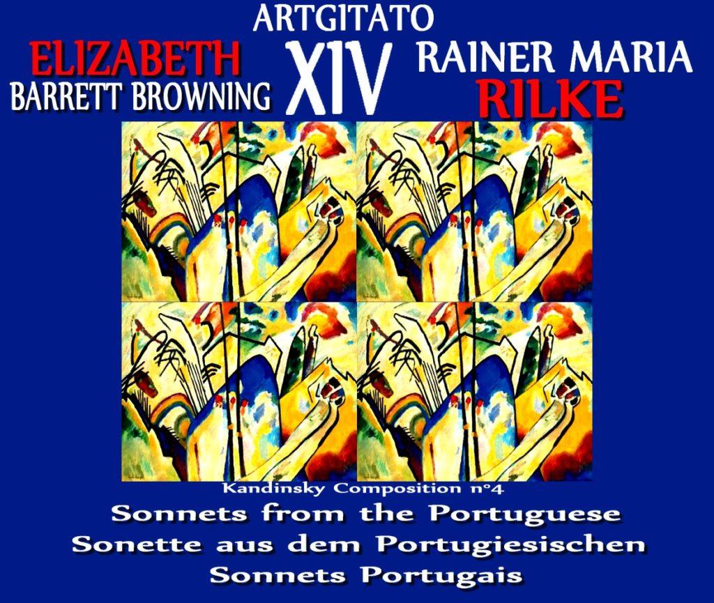 Sonnets from the Portuguese XIV Elizabeth Barrett Browning Artgitato Sonette aus dem Portugiesischen Vassily Kandinsky Composition n° 4
