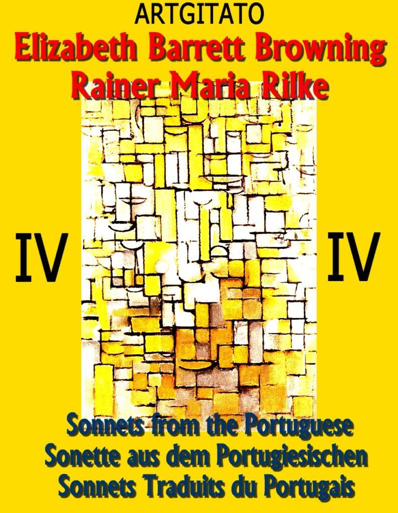 Sonnets traduits du portugais Rainer Maria Rilke Artgitato Sonnets Portugais Piet Mondrian Composition XIV
