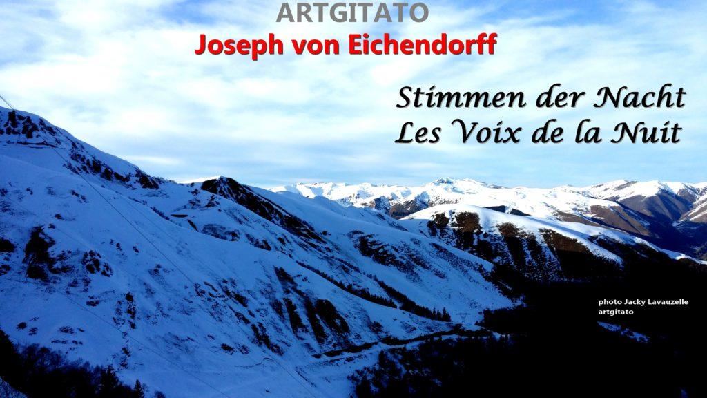 Stimmen der Nacht Les Voix de la Nuit Artgitato Joseph von Eichendorff