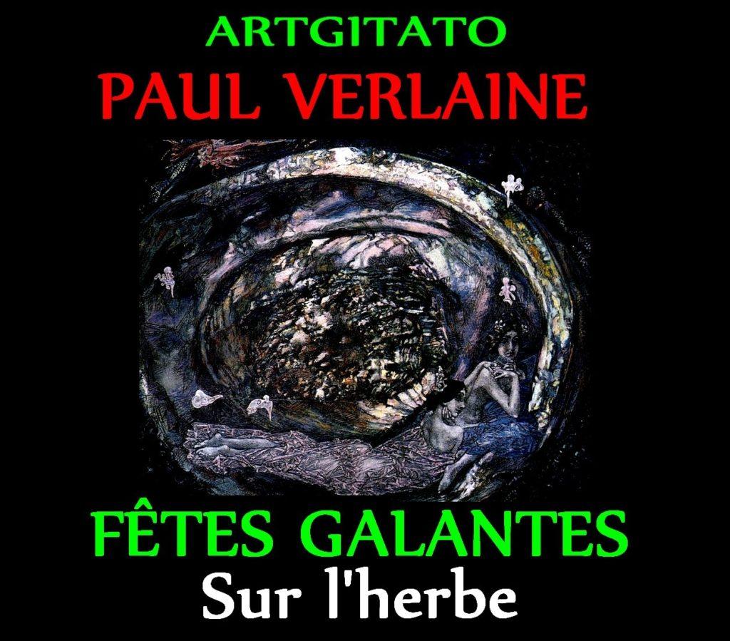 Sur l'herbe Fêtes Galantes Paul Verlaine Mickail Vroubel Huître Perlière 1904